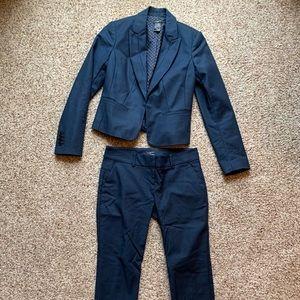 Ann Taylor navy ladies suit set